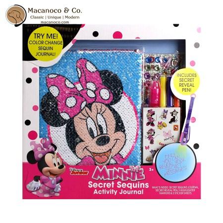 94529 Disney Minnie Secret Sequin Activity Journal 1