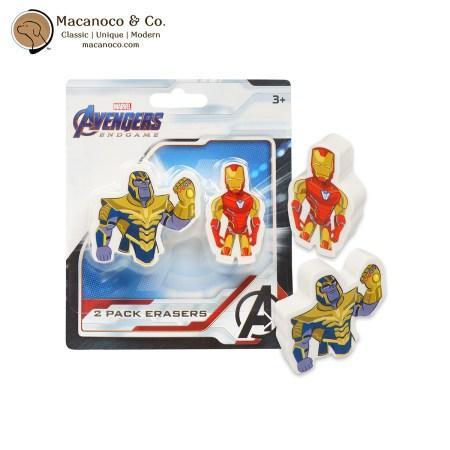 705574AVE Marvel Avengers Endgame 2 Pack Erasers 1