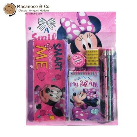 1099870347 Disney Minnie Mouse 10-Piece Stationery Set 1