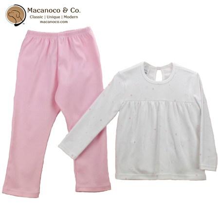 72178 Pajama Girl Ositos Canesu Pink 1