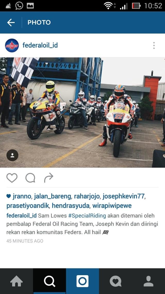 Sam Lowes Ready rolling thunder di panasnya Jakarta