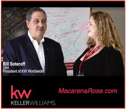 Bill Soteroff and Macarena Rose