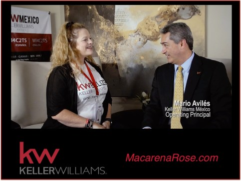 Mario Aviles OP of Keller Williams Mexico Macarena Rose