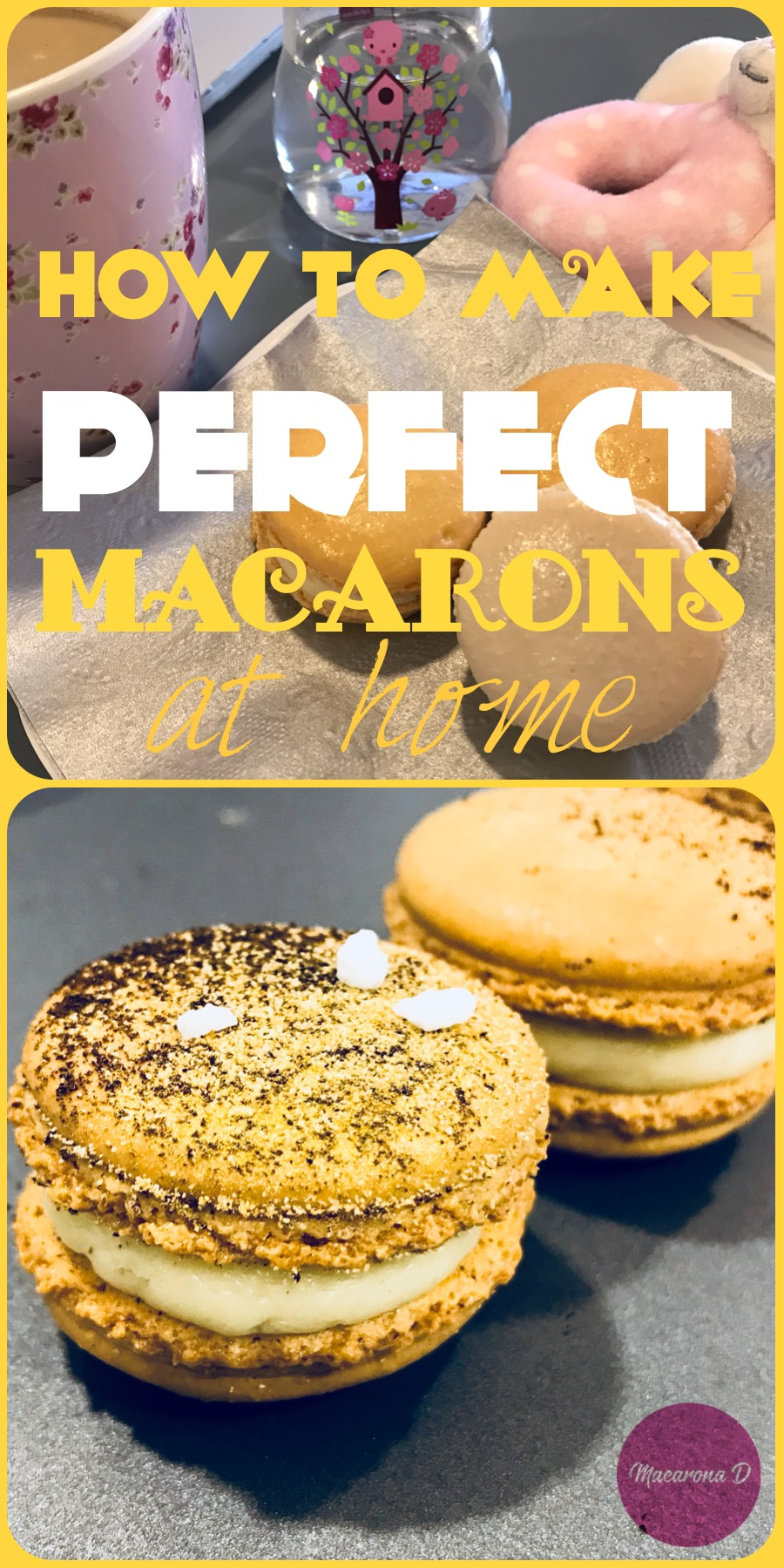make macarons at home