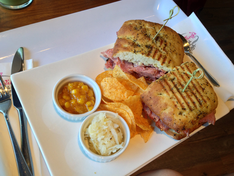 luv cravings montreal smoked meat sandwich