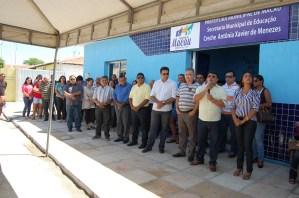 Creche professora Antônia Xavier de Menezes reabre em Barreiras