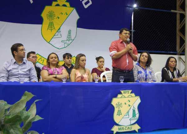 Prefeito Kerginaldo Pinto destaca o Pronatec durante aula inaugural