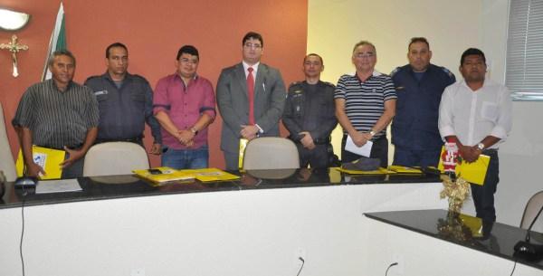 Autoridades presentes
