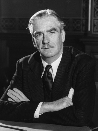 Image result for photo of Sir Anthony Eden