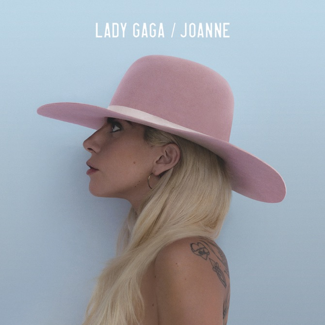 "This CD cover image released by Interscope shows, ""Joanne,"" the latest release by Lady Gaga. (Interscope via AP)"