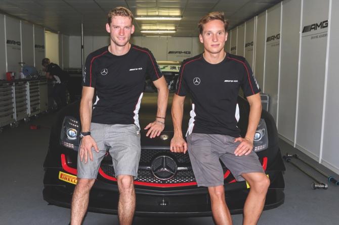 Maro Engel (left) and Renger van der Zande