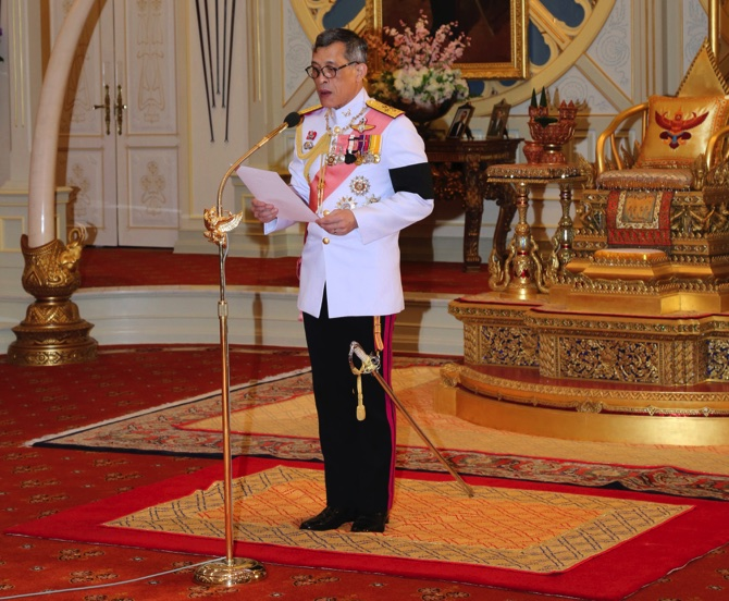 Draft constitution to be amended under King's request - Thai PM