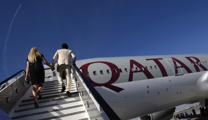 Qatar Airways Launches World's Longest Commerical Flight From Doha To Auckland