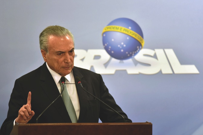 Brazil leader says incriminating audio doctored