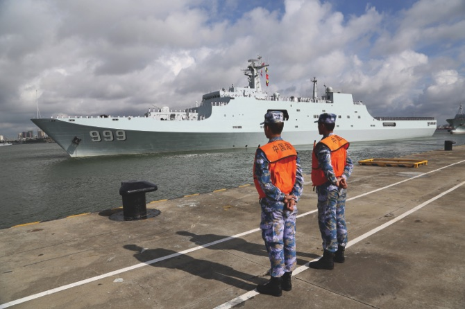 China dispatches troops to set up military base in Djibouti