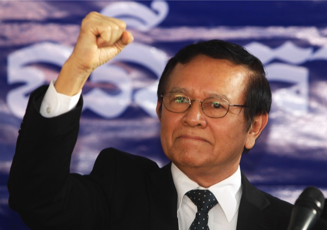 Cambodian PM says U.S. behind opposition leader in conspiracy