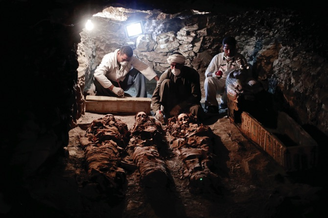 3500-year-old tomb filled with mummies found in Egypt