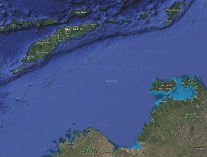 East Timor Australia agree on border delimitation  MACAU DAILY