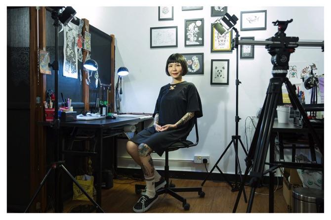 Helen lo macau association of tattoo art tattoos are for Association of professional tattoo artists