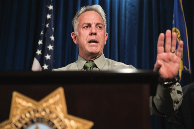 Clark County Sheriff Joe Lombardo