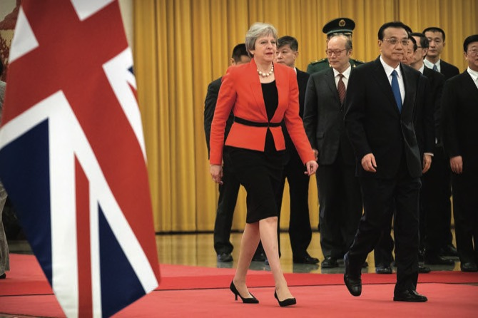 British PM seeking more ambitious trade ties with China: ambassador