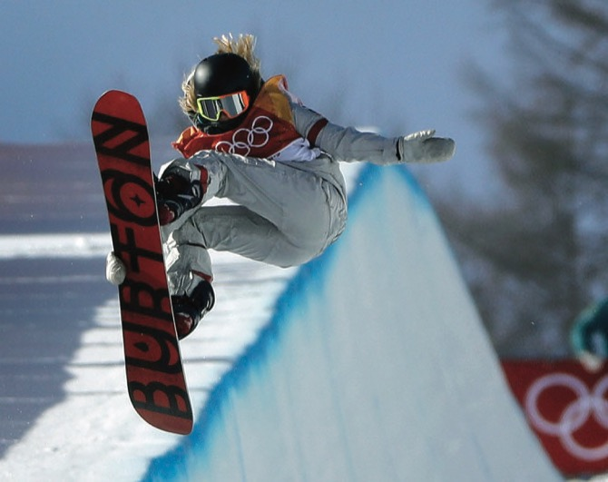 California's Chloe Kim Wins Gold in Olympic Snowboarding's Halfpipe