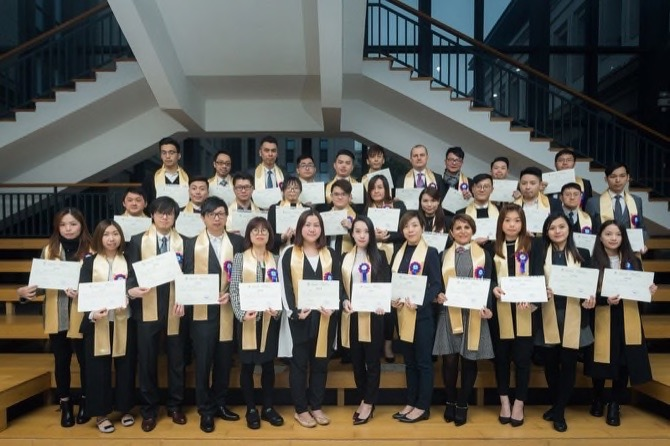 corporate bits graduate from sands business management   for continuing education honored the third group of graduates for completing the customized one year diploma program in business management this week