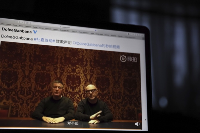 Dolce and Gabbana Apologize to the People of China