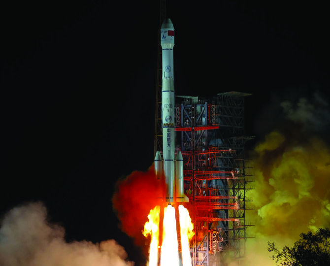 China space: China's daughter of the Moon is successfully launched