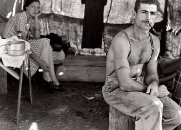 Tăietor de lemne șomer - 1939