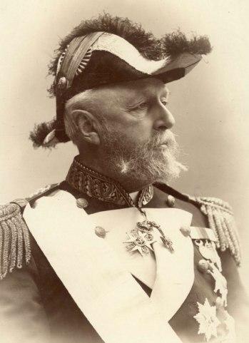 Oscar II, Regele Norvegiei si Suediei - 1880