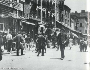 Lower East Side, photographed by Jacob Riis