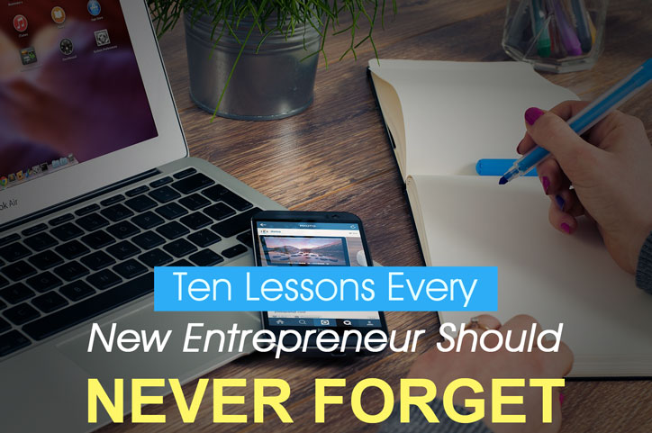 10 business lesson every new entrepreneur needs to learn - Macaulay Gidado