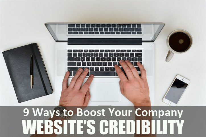 Nine-Ways-to-Boost-Your-Company-Websites-Credibility - Macaulay Gidado