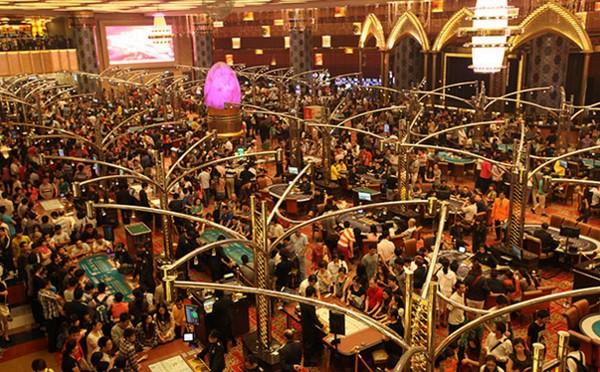 Macau's casino revenue fell for the 17th straight month