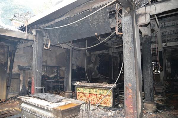 Macau A-Ma Temple blaze repair to take at least 1 year