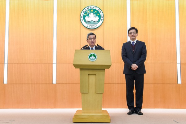 Macau municipal chief appointed new customs head