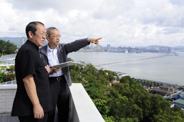 HK-Macau office chief urges 'all-round' development for Macau