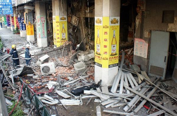 13 injured in gas blast in Macau