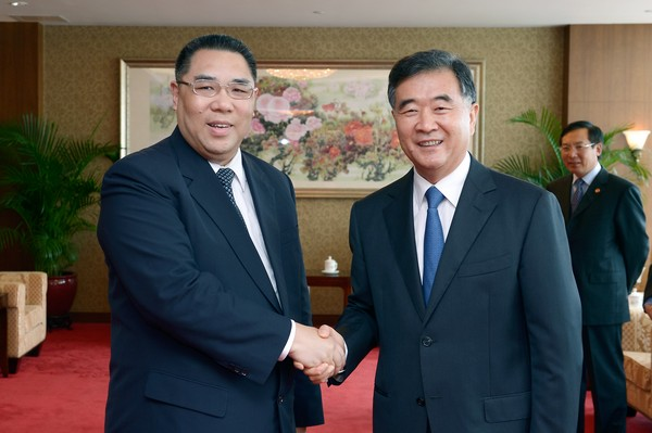 Vice -Premier Wang says Macau 'is the best place' to hold Sino-Lusophone forum