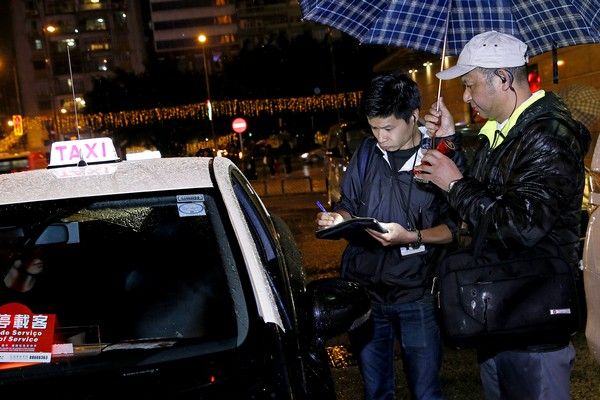 Macau police log 116 breaches by rogue cabbies in 6 days
