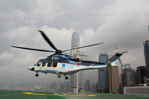Hong Kong-Macao Helicopter Service Resumes Operation