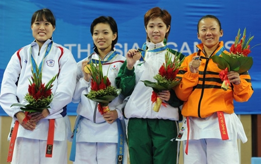 Macau wins two more bronze medals in karate at the Asian Games in Guangzhou