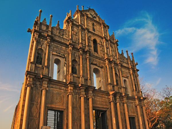 Macau government to revamp the area of the Ruins of Saint Paul