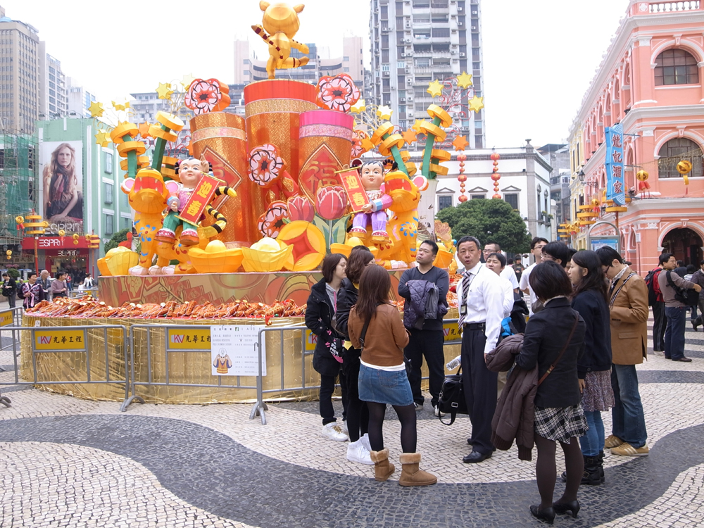 Macau receive 10.3 million visitors during the first five months of 2010