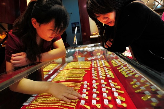 Macau's gold jewellery imports fall 56 percent