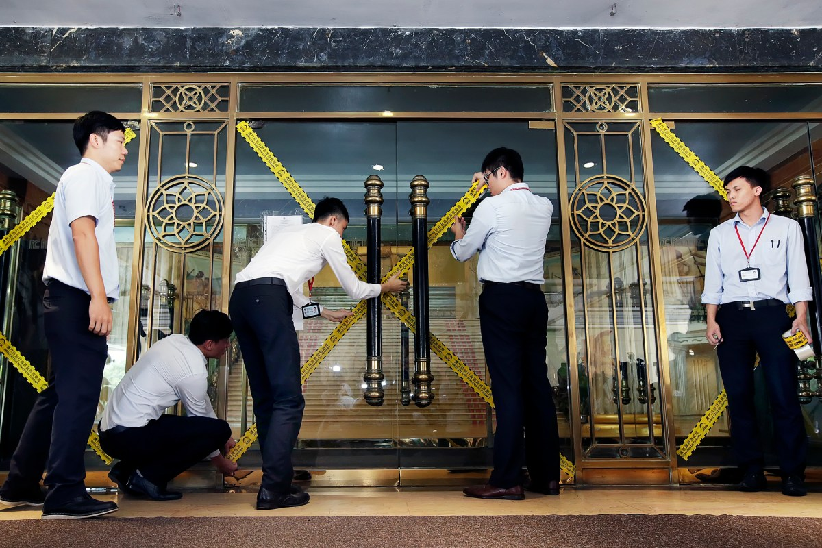 Hotel's closure won't affect Macau's image said government