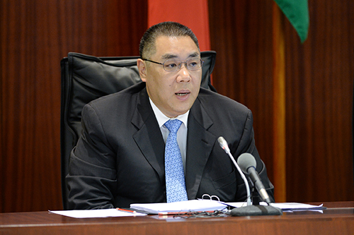 Macau's gaming sector is regionally competitive said Chief Executive
