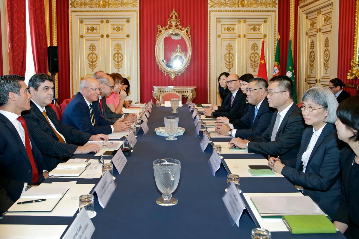 Macau and Portugal to strengthen trade relations and training of Portuguese-speaking professionals