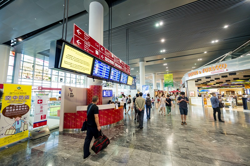 Macau airport hits new record of 630,000 passengers in one month